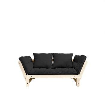 Canapea extensibilă Karup Design Beat Natural/Dark Grey