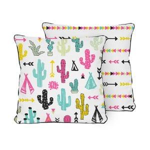 Polštář Pillow Cactus Garden, 45x45 cm