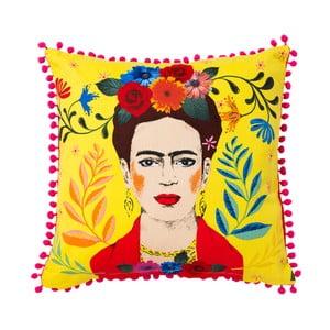 Barevný polštář Talking tables Frida Kahlo,45x45cm