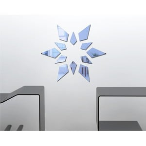 Dekorativní zrcadlo Geometry Star