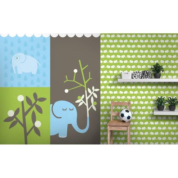Obrazová tapeta Elephants, 270x232.5 cm
