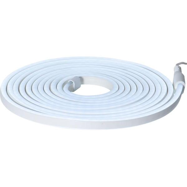 Șirag luminos pentru exterior Best Season Rope Light Flatneon, lungime 500 cm, albastru deschis