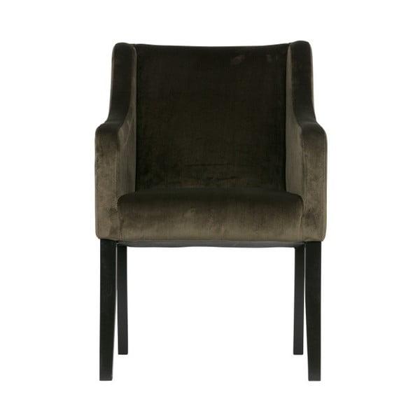 Zelená židle do jídelny De Eekhoorn Liz