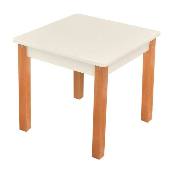 Bílý dětský stolek Mobi furniture Mario