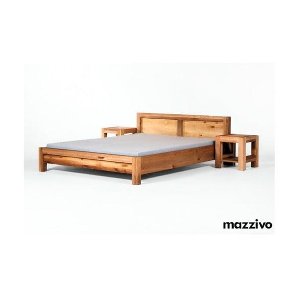 Noční stolek Ellesse z olšového dřeva, natural