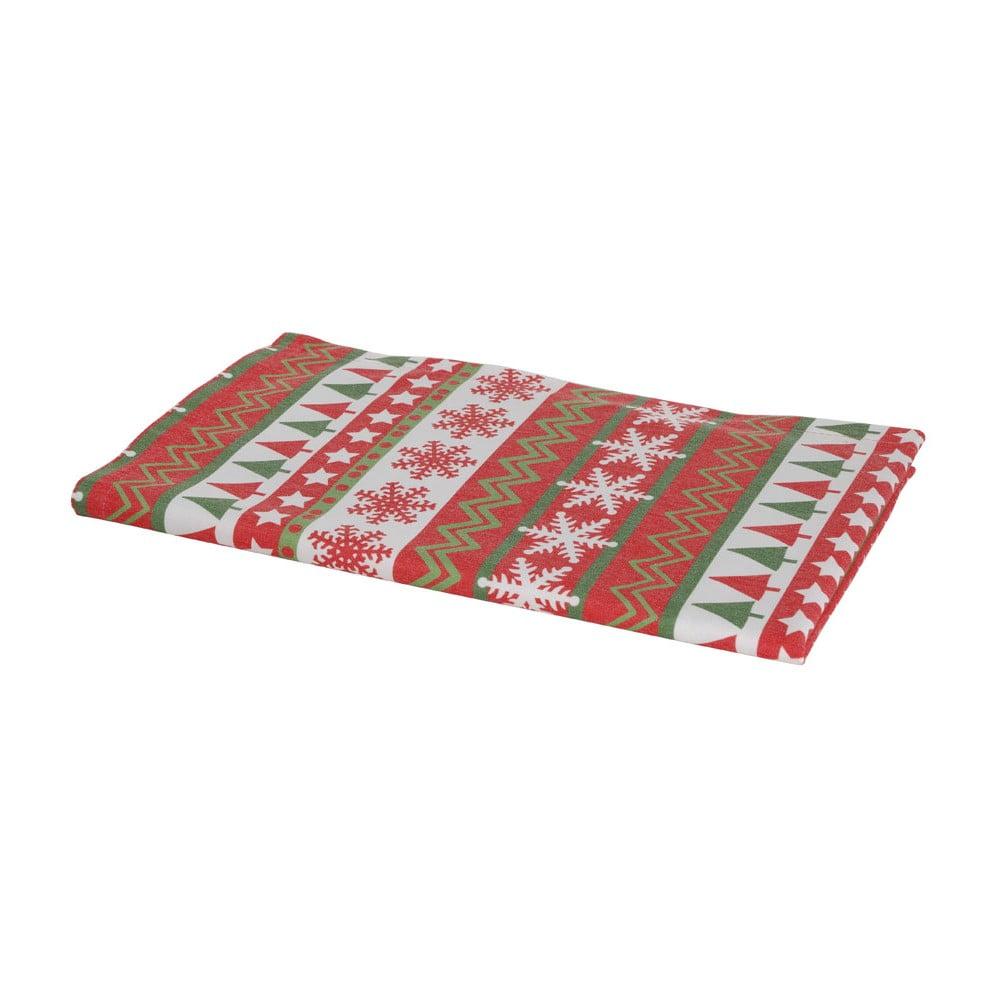 Vánoční běhoun na stůl Apolena Shine Stripe, 40 x 140 cm