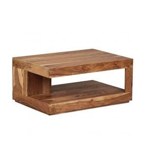 Konferenční stolek z masivního akáciového dřeva Skyport Nancy