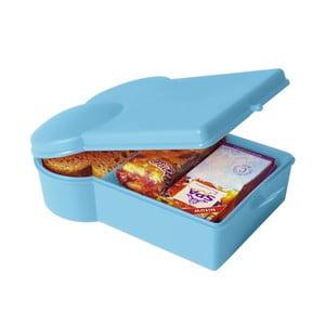 Svačinový box, světle modrý