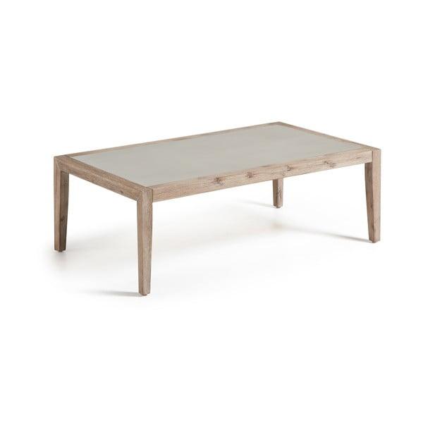 Dřevěný konferenční stolek La Forma Corvette