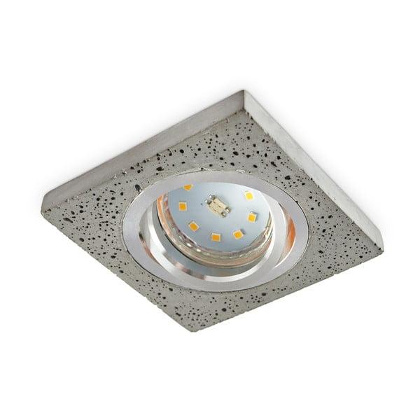 Kryt na LED žárovku Kobi Bari Chrome, šířka9cm
