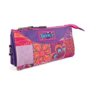 Kapsa Skpa-T se třemi kapsami Carry All Purple Mix