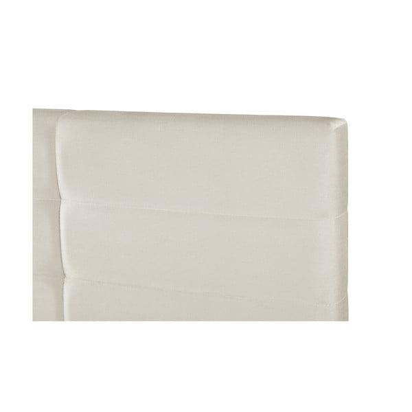 Krémově bílá dvoulůžková postel s úložným prostorem Guy Laroche Home Poesy, 160x200cm