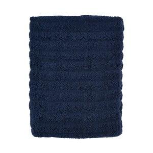 Tmavě modrá osuška Zone Prime, 70x140cm