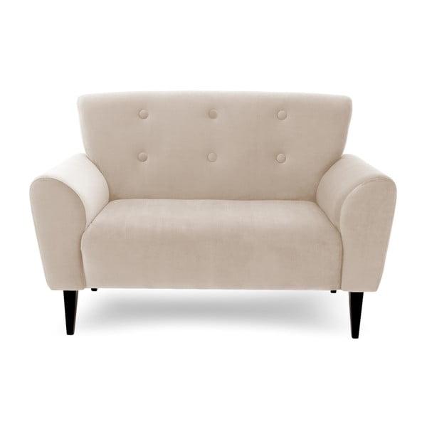 Canapea cu 2 locuri Vivonita Kiara, bej deschis