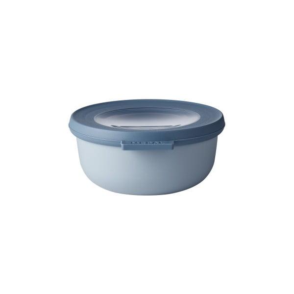 Niebieska miska z wieczkiem Rosti Mepal Nordic, 350 ml
