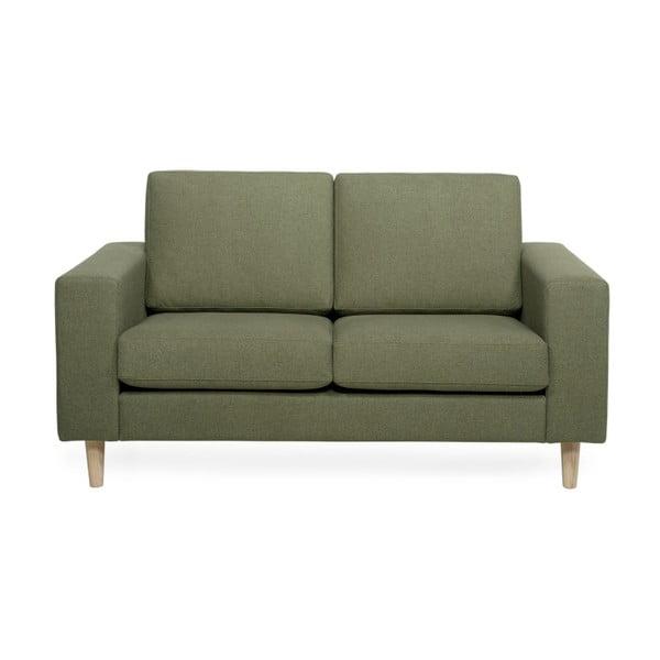 Focus zöld kétszemélyes kanapé - Softnord