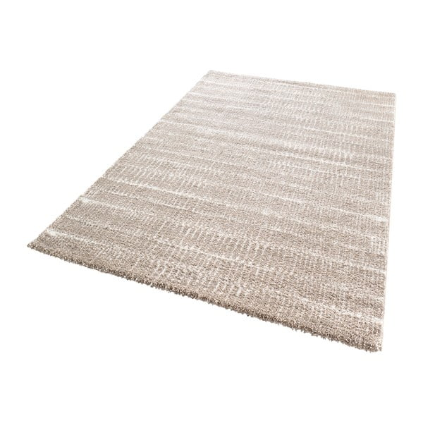Béžový koberec Mint Rugs Lines, 80x150cm
