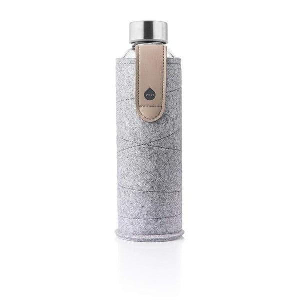 Mismatch Sand Sky boroszilikát üvegpalack, műbőr tartóval, 750 ml - Equa