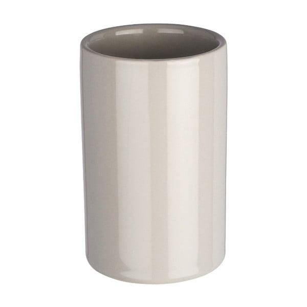 Polaris szürke kerámia fogkefetartó pohár - Wenko