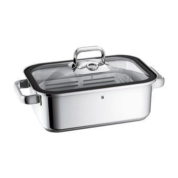Tavă din oțel inoxidabil pentru gătit pe aburi WMF Cromargan® Vitalis, 3,5 l