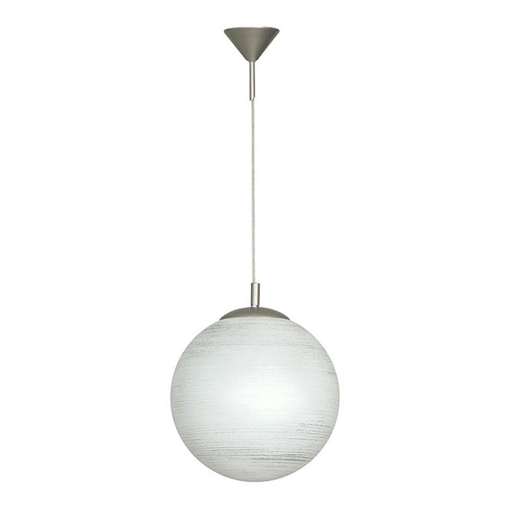 Závěsné svítidlo Glimte Globe White