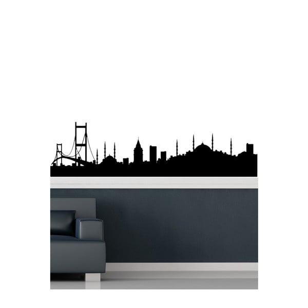 Vinylová samolepka na stěnu Velkoměsto