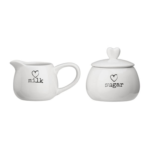 Set cukorničky a nádoby na mlieko Premier Housewares Charm