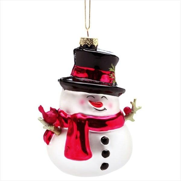 Vánoční závěsná ozdoba Butlers Hang On Snowman