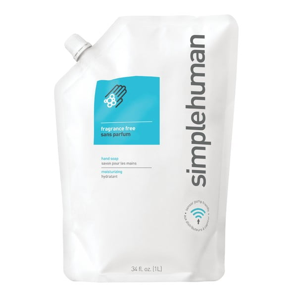 Hydratační tekuté mýdlo simplehuman neparfémované