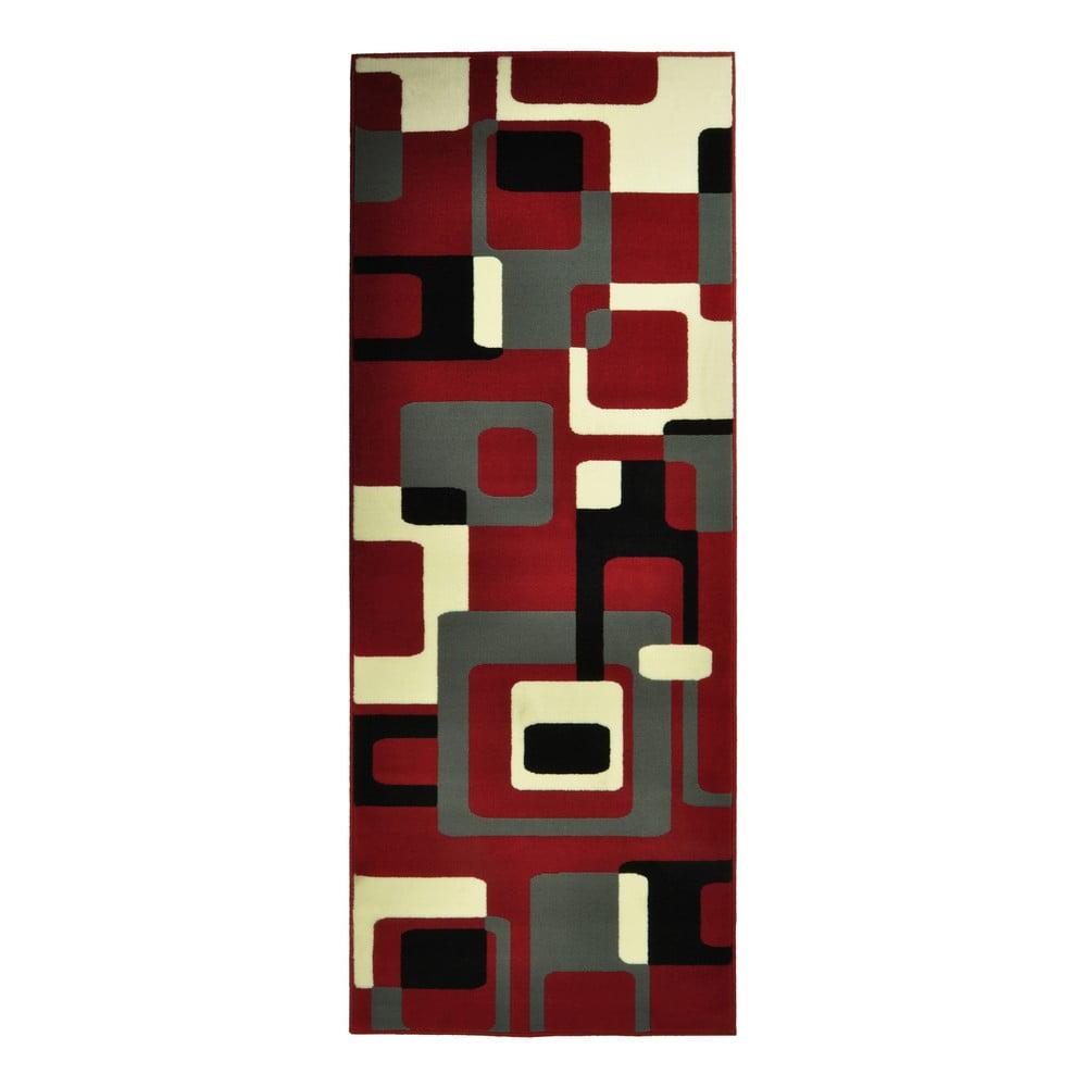 Červený koberec Hanse Home Hamla Retro, 120 x 170 cm