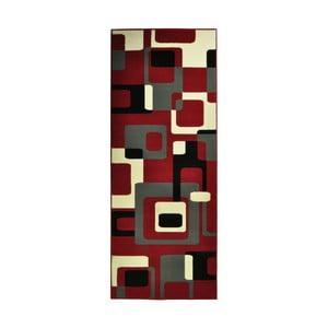 Červený koberec Hanse Home Hamla Retro, 80x150cm