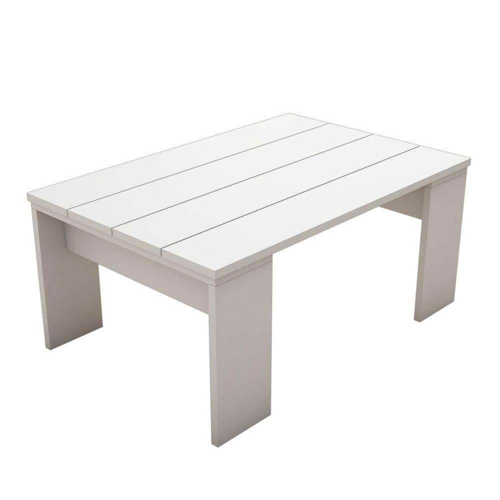 Bílý konferenční stolek Prida