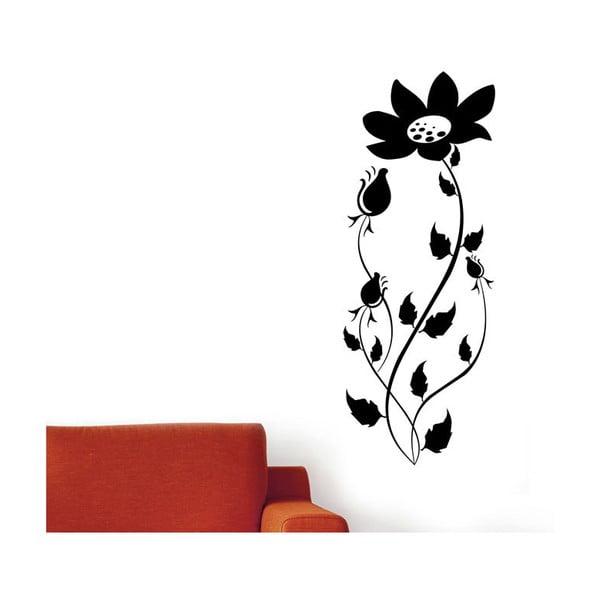 Vinylová samolepka na stěnu Květina
