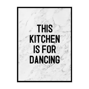 Poster Nord & Co Dancing Kitchen, 21 x 29 cm