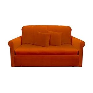 Canapea extensibilă cu 2 locuri 13Casa Greg, portocaliu