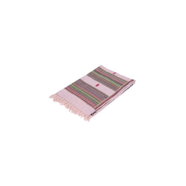 Šátek/pléd Manton Rosa, 120x240 cm