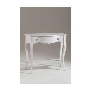 Bílý dřevěný konzolový stolek Castagnetti Sheila