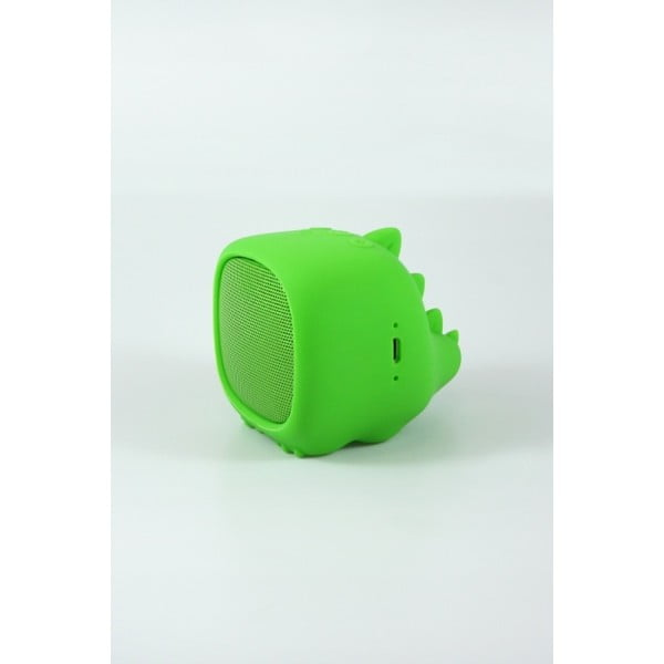 Zelený přenosný bluetooth reproduktor Qushini Speaker