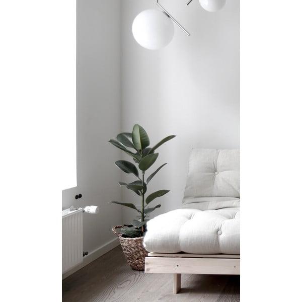 Variabilní křeslo Karup Design Roots White/Light Grey