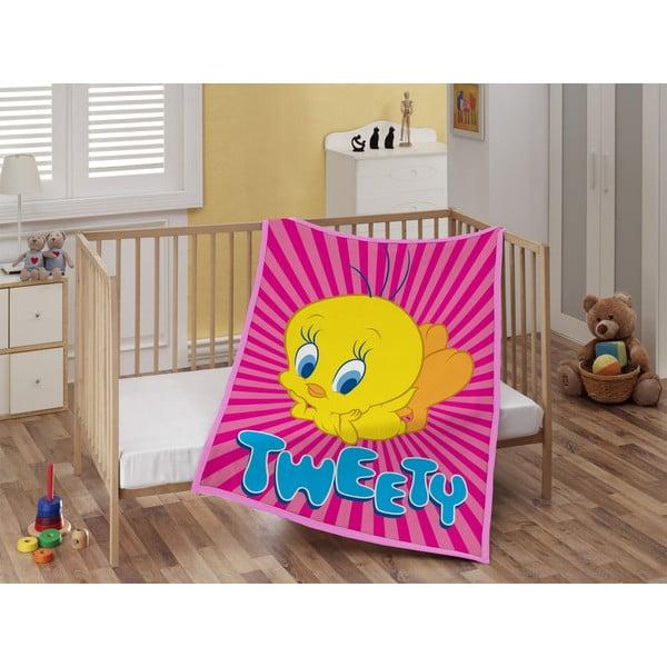 Dětská deka Tweety, 110x140 cm