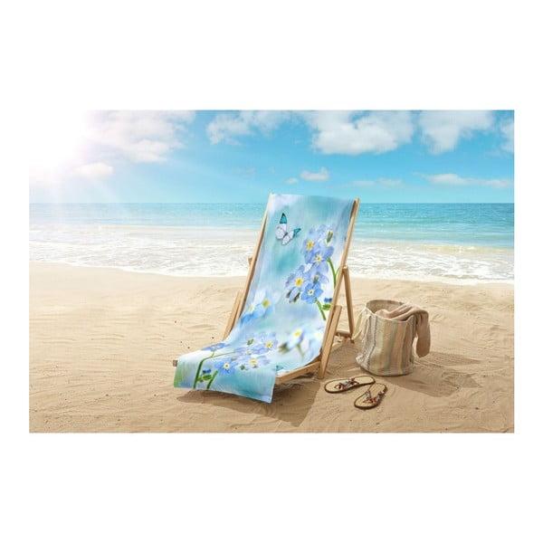 Plážová osuška s potiskem Good Morning Sympathy, 100 x 180 cm