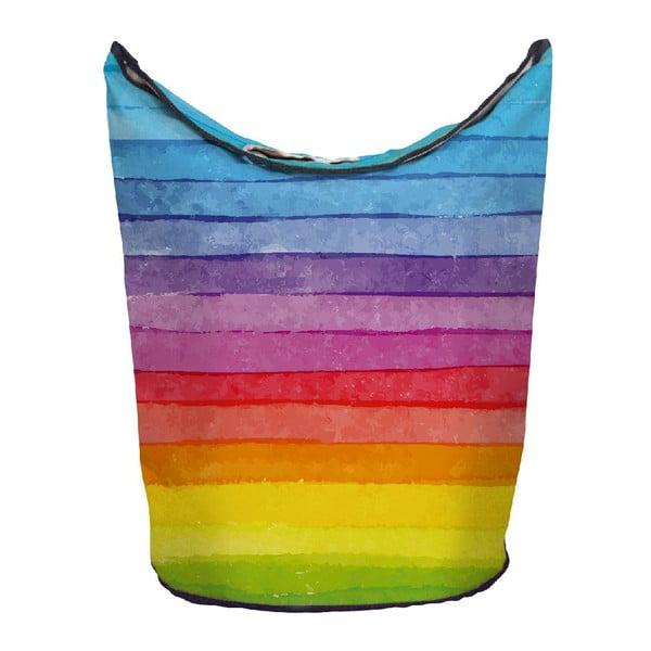 Koš na prádlo Chalk Rainbow