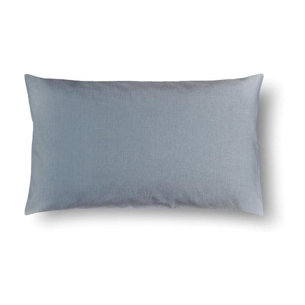 Petrolejově modrý damaškový povlak na polštář Casa Di Bassi Basic, 50 x 70 cm