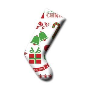 Dekorativní vánoční ponožka 4, 45cm