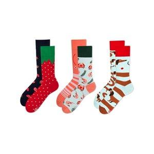 Sada 3 párů ponožek Many Mornings Fruits, vel. 43-46