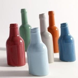 Sada 6 barevných váz, malé