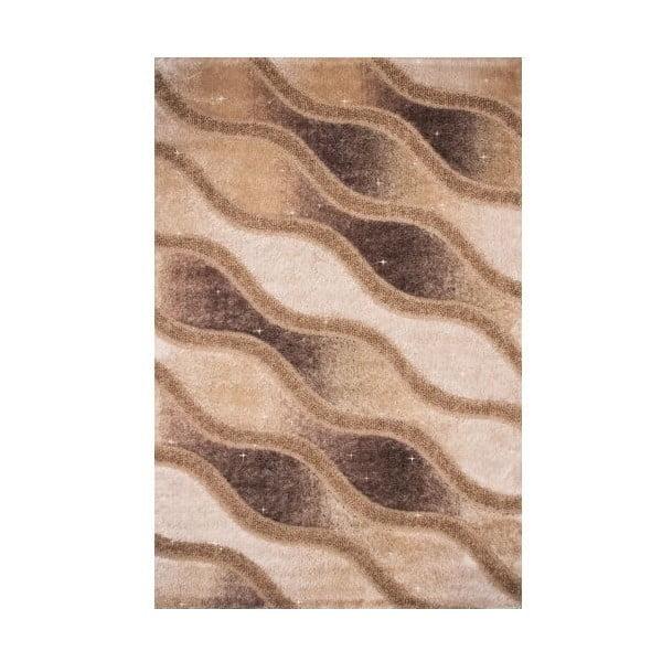 Koberec Creative Beige Wave, 80x150 cm