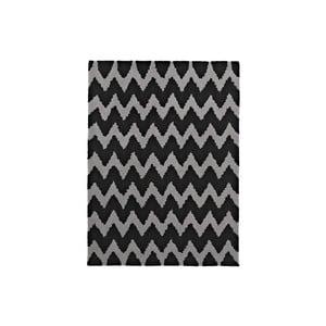 Koberec Hongkong Black Grey, 120x170 cm
