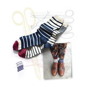 Ponožky OYBO untuned Cocteau, vel. 39/41