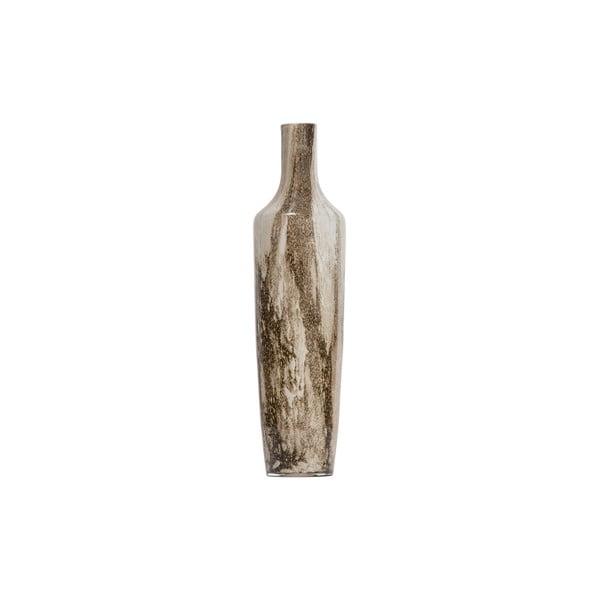 Hnědo-béžová váza BePureHome, výška 49 cm